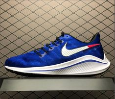174103a2133 Nike Air Zoom Vomero 14 Blue White Running Shoes For Sale