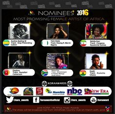 #KORA2016 #KORAAWARDS #NAMIBIA #AFRICAUNITED