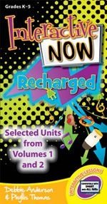 Interactive NOW - RECHARGED by Debbie Anderson and Phyllis Thomas - The Interactive Now series has taken music classrooms by storm! However, some folks are looking for lessons from the early volumes that can be used without proprietary software. So, here are some of the best units from the first two volumes of Interactive Now, recharged with fresh animation, updated content, and Adobe® Flash® programming to make them more accessible for your classroom. (Grades K-5)