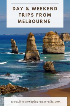 Melbourne is great to visit, but there are also some great trips you can take like The Great Ocean Road, Into the Yarra Valley, up Mount Dandenong or to one of the gold rush towns of Bendigo and Ballarat. Weekend Trips, Day Trip, Easy Day, New Zealand Travel, Luxury Holidays, Iceland Travel, Melbourne, Travel Couple, Plan Your Trip