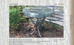 Natural Stone/Jade Garden Bench/Seat