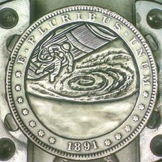 Silver Dollar space series   Hobo nickels & engraved coins ...