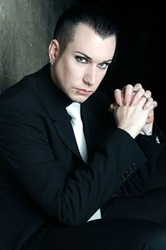 Chris Pohl of Terminal Choice/Blutengel/etc... As a bonus, I could listen to him all night....