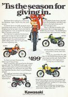 Kawasaki KD80M 1979 Ad Picture