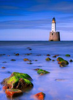 Stunning in blue, Rattray Head Lighthouse, Scotland