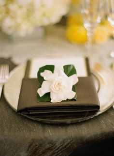 #gardenia  Photography: Elizabeth Messina - elizabethmessina.com/ Event Design and Planning: Mindy Weiss - mindyweiss.com/ Florals: Jeff Leatham - jeffleatham.com/  Read More: http://www.stylemepretty.com/2012/05/28/happy-memorial-day-gorgeous-military-weddings/