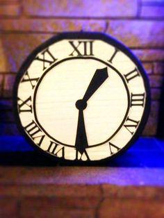 Back to the Future Clock Pinata by PleasantlyPinatas on Etsy, $34.99