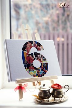 Part of the Children's Birthday Party package is the design on the personalised cover 32 - pages photo-album. #birthday #party #photography # photos #album #photobook #personalised #cover #idea #memory #present #suprise