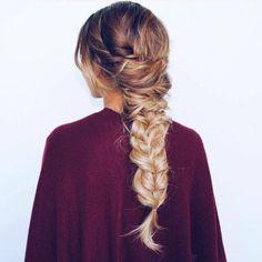 autumn, beauty, blonde, braid, comfy, cool, cozy, cute, fashion, girl, hair, love, luxury, pretty, sweater