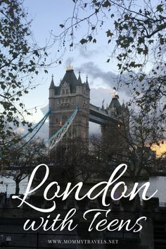 London with teens - Find out what to do with teenagers in London