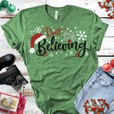Believe svgBelieving svgSanta svgChristmas svgsHoliday svgChristmas ShirtsChristmas svgCricut DesignsSilhouette Design - Kind Shirt - Ideas of Kind Shirt - Christmas Tee Shirts, Merry Christmas, Family Christmas, Christmas Sweaters, Christmas Clothes, Christmas Outfits, Winter Shirts, Christmas Pajamas, Christmas Tshirts Ideas