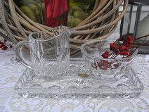 popart Kristall Zucker & Sahne Set