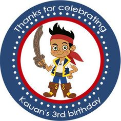 Jake and the Neverland Pirates Inspired Birthday by PartiesR4Fun