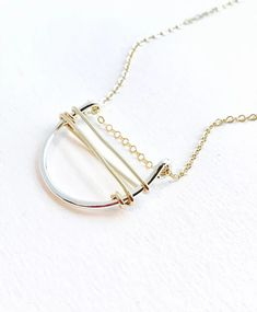Wired Necklace by Vellamode