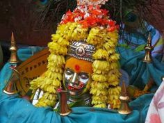 Yellamma, who is also known as Renuka and as Ekvira, the mother of Lord Parshurama is honoured by the hijras as their protector. Every year, the hijras honour Yellamma, with prayers, bhog and with fasting, and walk in processions with the idol of Yellamma on their heads. Yellamma Hills in Belgaum district of Karnataka on the Maharashtra Karnataka border are visited by Hijaras across India to a Jatra of the devi in the month of February