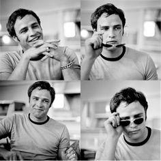 Marlon Brando y sus camisetas.