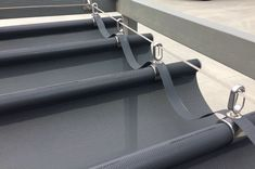 """New Wave Shade Version 3 (Retractable Shades) """"New Product"""" Custom Size/Comm. New Wave Shade Versi Pergola Patio, Vinyl Pergola, Retractable Pergola, Small Pergola, Pergola Canopy, Pergola Swing, Pergola Attached To House, Wooden Pergola, Patio Roof"""