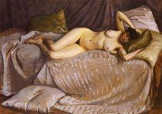 Caillebotte Gustave Femme Nue Etendue Sur Un Divan - Gustave Caillebotte - Wikipedia, la enciclopedia libre