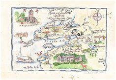 Bespoke Gift and Wedding Maps