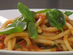 Mama DePandi's Bucatini Pomodoro - SO good!!!!!
