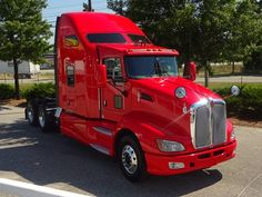 2013 Kenworth T660 with Auxiliary Power Unit