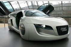 Cars Of Future, Audi, futuristic car Luxury Sports Cars, Luxury Auto, Sexy Cars, Hot Cars, Design Transport, Automobile, Futuristic Cars, Audi Cars, Future Car