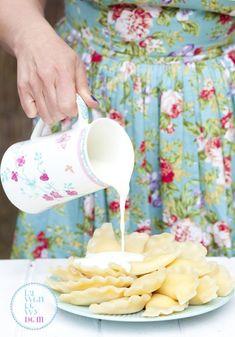 pierogi-z-serem-przepis Pierogi, Food And Drink, Dom
