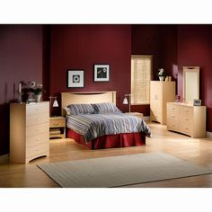 Have to have it. South Shore Rock Brook Natural Maple Headboard-Full/Queen $109.99