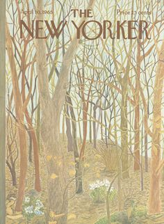The New Yorker - Saturday, April 10, 1965 - Issue # 2095 - Vol. 41 - N° 8 - Cover by : Ilonka Karasz
