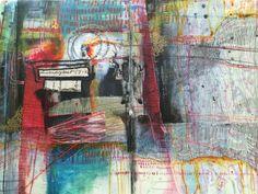 """daughter"" journal spread, by bun blog, artist: Roxanne Coble"