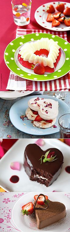 Лучшие романтические десерты ко Дню всех влюблённых