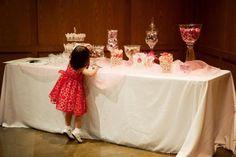 Candy table at my wedding! @Tammy Daubenheyer