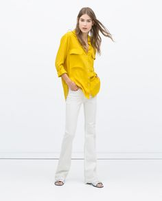 ZARA - NEW THIS WEEK - SHIRT WITH POCKETS
