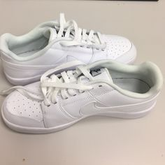 808c5835 White Sneaker Trend - Nike Court Majestic Sneakers | Fashion | Nike ...