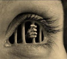The feeling of being a prisoner of our own lives and our environment                                                                                                                                                                                 Plus