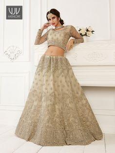Rs11,100.00 Gold Lehenga, Net Lehenga, Lehenga Choli Latest, Bridal Lehenga Choli, Indian Lehenga, Black Lehenga, Indian Dresses, Indian Outfits, Lehenga Style