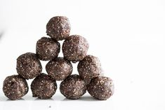 Super Seed Chocolate Protein Bites — Oh She Glows