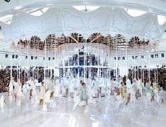 Louis Vuitton Carousel. October 2011 for Spring 2012 ready-to-wear collection