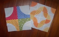 This week for the Skill Builder Sampler we are going to make a Drunkard's Path Block.  I love these quarter circle units - there are ...