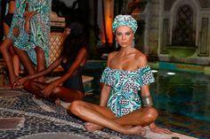 Mara Hoffman Versace Mansion Miami Swim Week 2016 Morocco