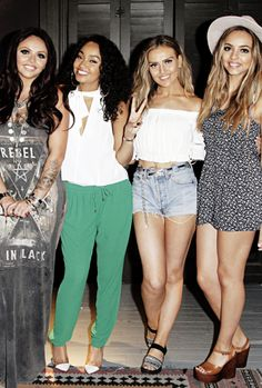 So let me just say that these 4 girls are my fashion icons!