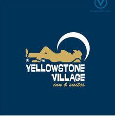 #VegaCreations #logo #design for #YellowstoneVillageInnandSuites in #Gardiner #Montana
