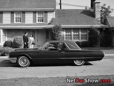 "1964 Ford Thunderbird in front of the Baxter's house from ""Hazel."""