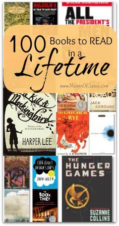 Do you have a reading bucket list? Check out these 100 Books to Read in a Lifetime - are your favorites on the list? Great book club resource!