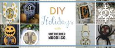 Need a craft project? Unfinished Wood Event! - http://www.pinchingyourpennies.com/need-a-craft-project-unfinished-wood-event/ #Crafts, #Decor, #Wood
