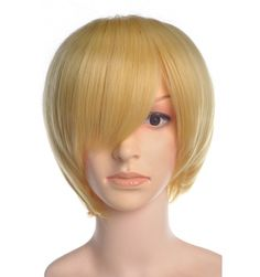Trisa Short Yellow Wig Cosplay