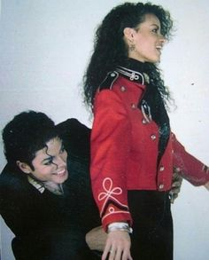 Michael Jackson and Tatiana Thumbtzen .