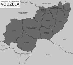 Freguesias do concelho de Vouzela