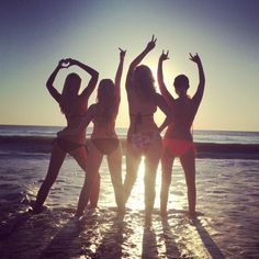 Personality/summer pic of me and my three sisters !