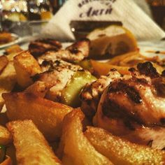 Greek grilled chicken #pelion #agiosioannis #aktistivachtis #mouresi #greekfood #greece